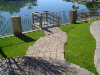 Walk way after - GPM Landscape